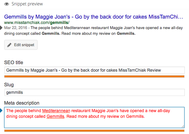 Bad Example for On Page SEO