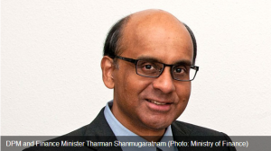 Deputy Prime Minister and Finance Minister Tharman Shanmugaratnam